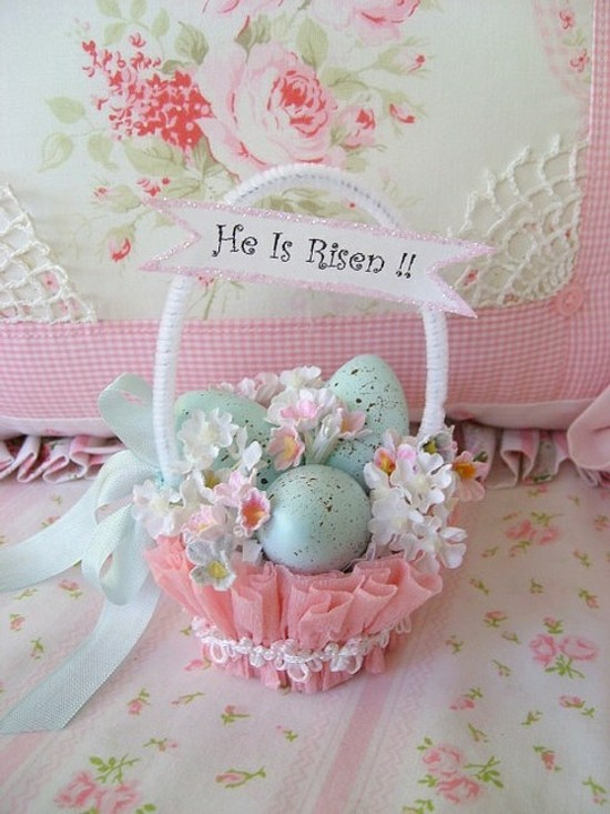 vintage-Easter-basket-pink-blue-DIY-decoration-ideas